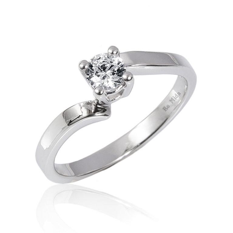 Gioielleria Bologna - solitario diamante Bologna anello ...