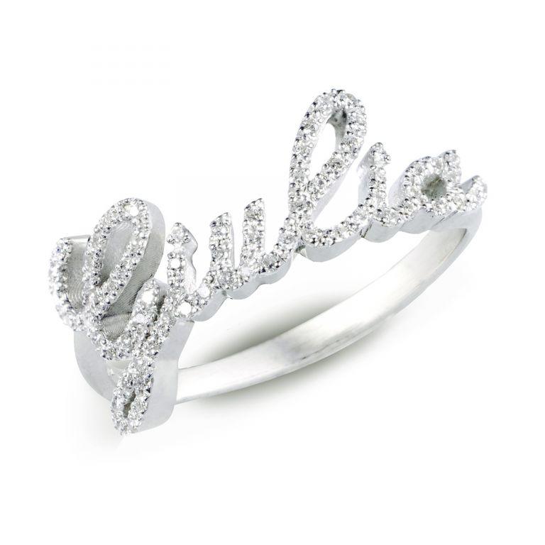 Anello in oro 750 1000 incastonato a mano con diamante disponibile in